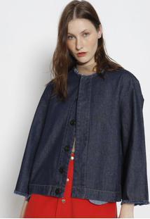 Casaco Jeans E- Fabrics - Azul Escuroosklen