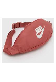 Pochete Nike Sportswear Heritage Hip Pack Rosa