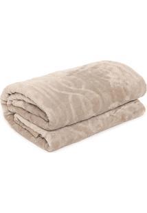 Cobertor Casal Corttex Home Design Cervinia Ornare Bege