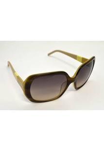Óculos De Sol Lacoste Acetato L629S Médio Verde Musgo