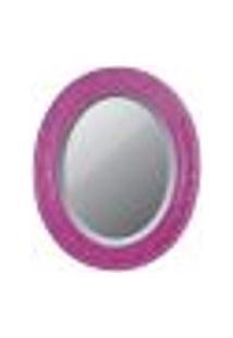 Espelhos Oval Bisotê Violeta
