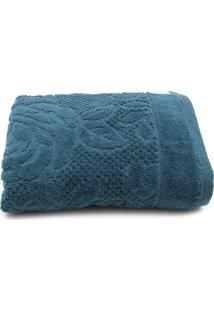 Toalha De Rosto Karsten Charlote Azul 48 X 70