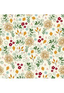 Papel De Parde Sunset Adesivos Floral Colorido Sala De Estar - Rolo 6,00 0,50 M