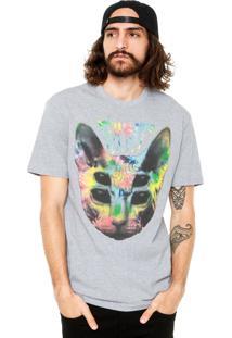 Camiseta Blunt Sphynx Tie Dye Cinza