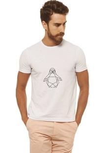 Camiseta Joss - Pingu - Masculina - Masculino-Branco