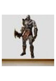 Adesivo De Parede God Of War Kratos 2 - Gi 184X100Cm