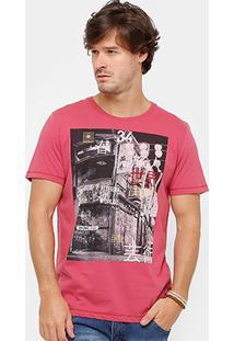 Camiseta Colcci Alternative World Masculina - Masculino