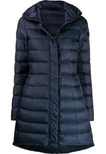 Peuterey Long Sleeve Padded Coat - Azul
