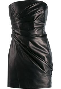 Versace Vestido Tomara Que Caia - Preto