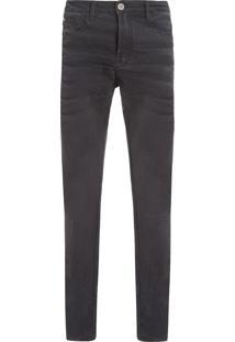 Calça Masculina Jeans Rock Arabia 3D - Cinza