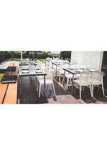 Cadeira Tramontina Victória 92041010 Com Encosto Vazado Branca