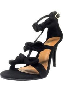 695d4c558 Sandália Com Salto Da Moda feminina
