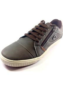 Sapatênis Ped Shoes Masculino - Masculino-Marrom