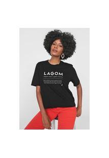 Camiseta Cantão Lagom Preta