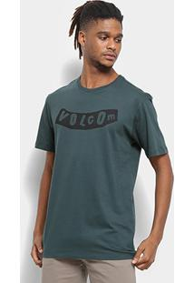 Camiseta Volcom Pistol Masculina - Masculino