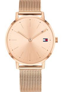 33ac0d6b7f2 ... Relógio Tommy Hilfiger Feminino Aço Rosé - 1781932