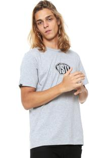 Camiseta Rusty Splits Cinza