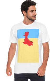Camiseta Reserva Derretido Branca
