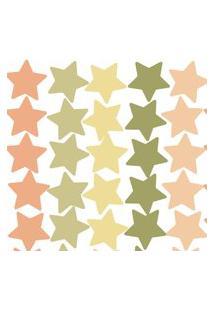 Adesivo De Parede Infantil Estrelas Verdes