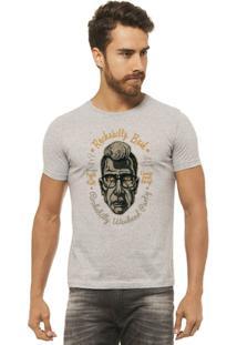 Camiseta Joss - Rockabilly - Masculina - Masculino-Mescla