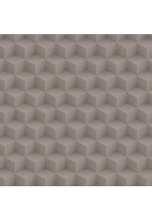 Papel De Parede Cubo Cinza (950X52)