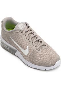 Tênis Nike Air Max Sequent 2 Feminino - Feminino-Cinza