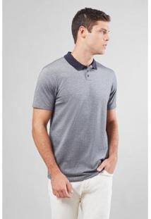 Camisa Polo Pima Imp. Pique Bolinhas Reserva - Masculino-Preto