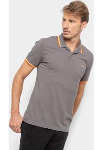 Camisa Polo Colcci Detalhe Neon Masculina - Masculino