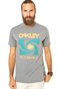 Camiseta Oakley Mod Spoke Tee Cinza
