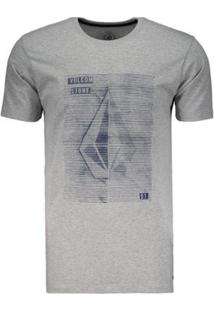 Camiseta Volcom Silk Long Fit Tone Masculina - Masculino
