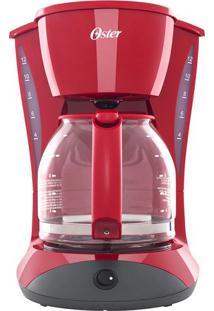 Cafeteira Red Cuisine- Vermelha & Preta- 33,5X23,5X3Oster
