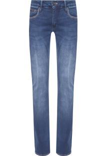 Calça Masculina Jeans Skinny Five Pockets - Azul