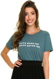 T-Shirt Jogabe Estampada Verde - Kanui