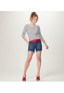 Bermuda Comfort Jeans - Azulmalwee