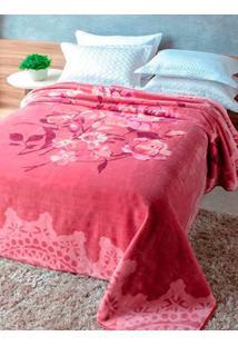 Cobertor Casal Jolitex Rosa