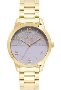 Relógio Condor Feminino Eterna Bracelete - Co2035Kwc/K4G Co2035Kwc/K4G - Feminino-Dourado