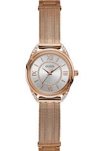 Relógio Guess Feminino Aço Rosé - W1084L3