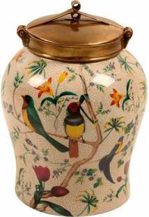 Vaso Decorativo Jahan Ii P