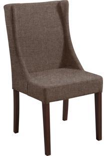 Cadeira Antonia B. Mad Tabaço T1072 Linho Marron Mescla