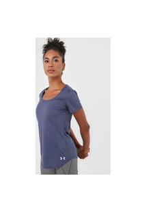 Camiseta Under Armour Streaker 1.0 Azul