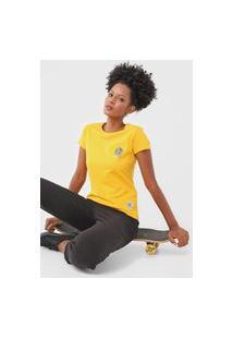 Camiseta Element Taxi Driver Amarela