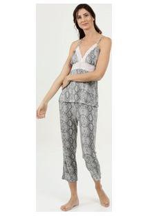 Pijama Feminino Estampa Animal Print Marisa