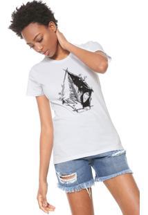 Camiseta Volcom Twigs Branca