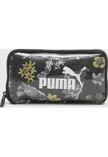 Pochete Puma Core Seasonal Sling Pouch Preta