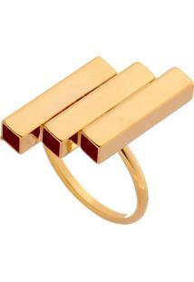 Anel Canutos Dourado