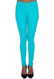 e89e5717c ... Calça Sarja Skinny Color Colcci - Feminino-Azul