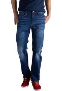 Calça Jeans Levis 505 Regular Masculino - Masculino-Azul
