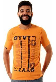 Camiseta Oitavo Ato Music Mix Masculina - Masculino-Laranja