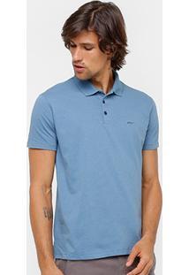Camisa Polo Ellus Malha Maquinetado Pontinhos Masculina - Masculino