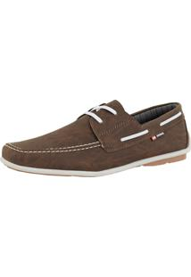 Mocassim Cr Shoes Dockside Casual Rebento Café